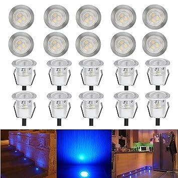 Lot De 20 Spot Encastrable Led Lampe Exterieur Eclairage Encastre