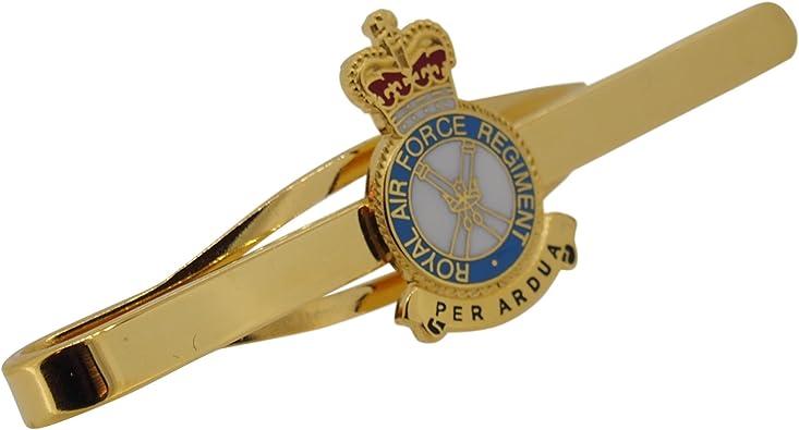 RAF Regiment Royal Air Force Military Tie Clip Slide