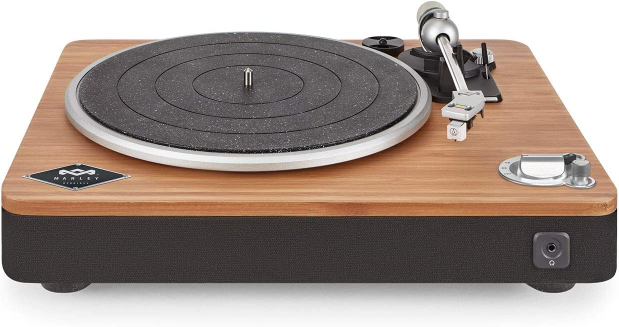 House of Marley Stir It Up - Giradischi in Legno di Bambù