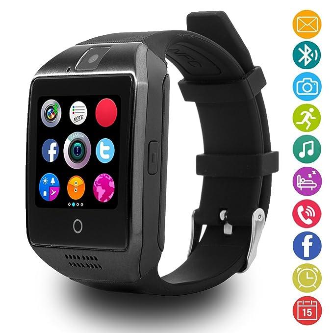 30 opinioni per Smartwatch Android, LATEC Bluetooth Smart Watch supporta SIM card e fotocamera,