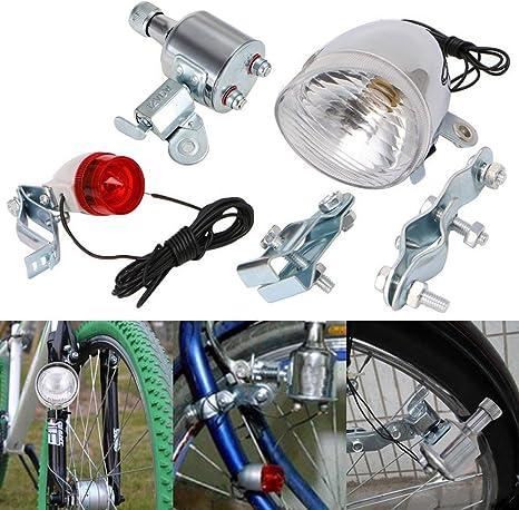 12V Friction Generator Tail//Headlight kit fits Motorized Bike for Electric Bike