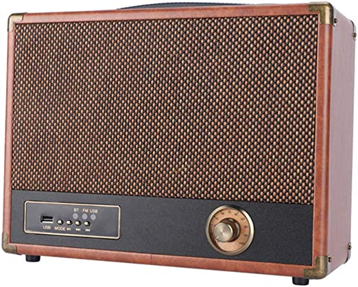 NO BRAND Bluetooth fonógrafo Tocadiscos Vintage Forma Maleta USB ...