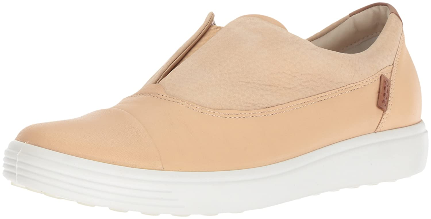 ECCO Women's Soft 7 Slip-on Sneaker B076ZXXW2G 38 M EU (7-7.5 US)|Powder/Powder Ii