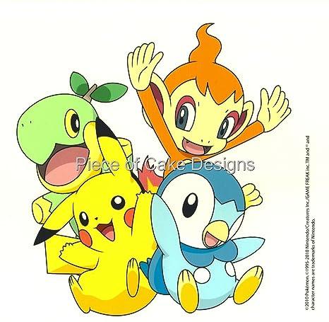 1/4 Hoja ~ Pokemon bebé Cumpleaños ~ Comestible imagen ...