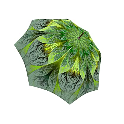 de340e24c036 LA BELLA UMBRELLA Green Flower Designer Large Canopy Unique ...
