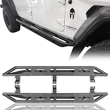 Amazon Com Hooke Road Jeep Gladiator Steps Tube Running Board