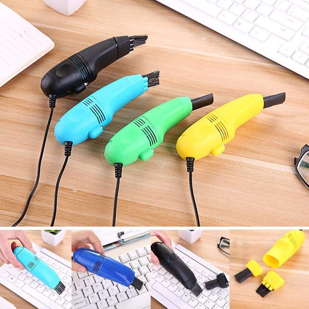 Mini Aspirador de Teclado Portátil USB Aspiradora de Mano Cepillo ...