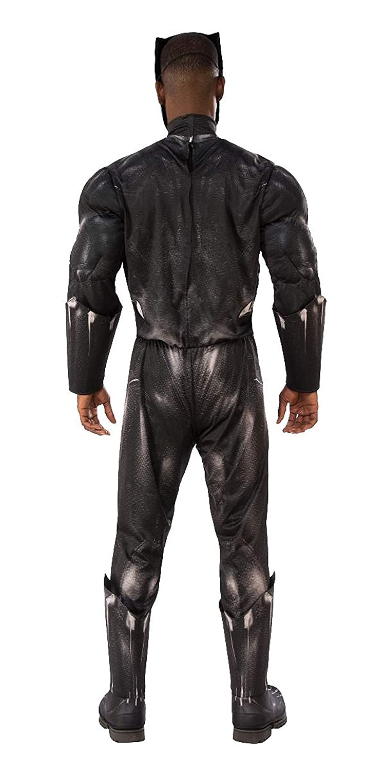 Adult Deluxe Black Panther Movie Costume 820992