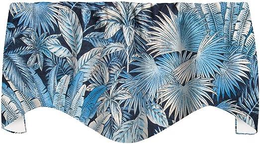 Window Treatments Valance Curtains Living Room or Kitchen Window Valances Tommy Bahama Fabric Beach Decor Bahamian Breeze Blue