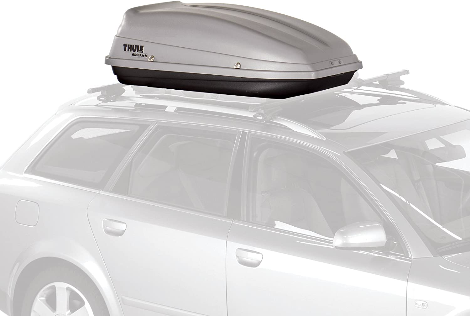 UP To 30% Off on Thule 682 Sidekick Rooftop Cargo Box,Grey, One Size