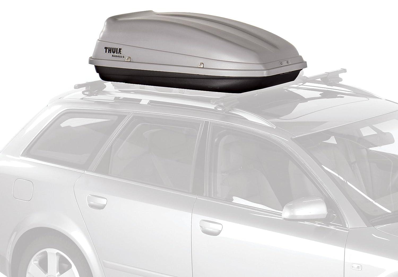 Amazon.com: Thule 682 Sidekick Rooftop Cargo Box,Grey: Sports U0026 Outdoors