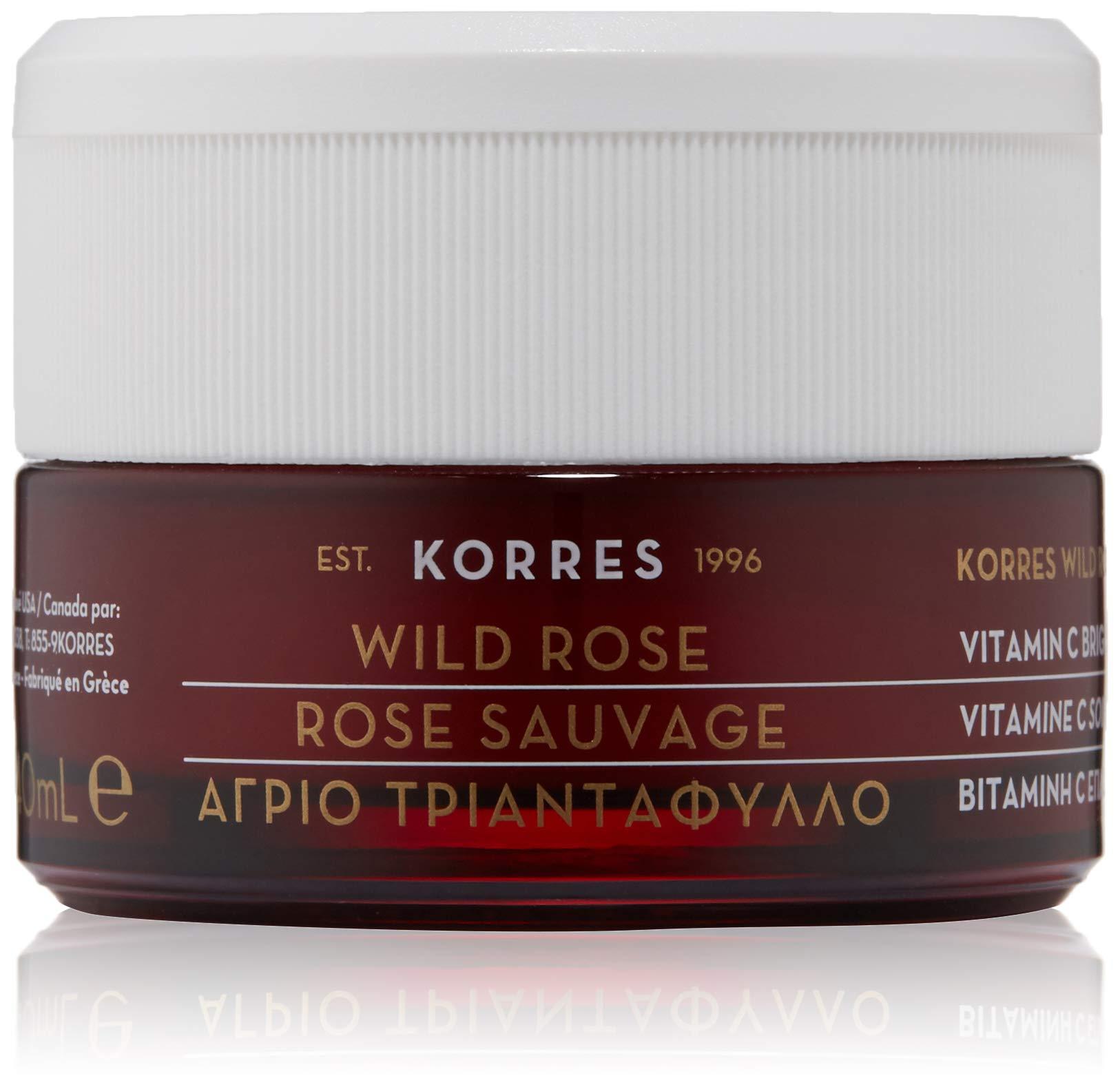 KORRES Wild Rose Vitamin C Brightening Sleeping Facial, 1.35 Fl. Oz