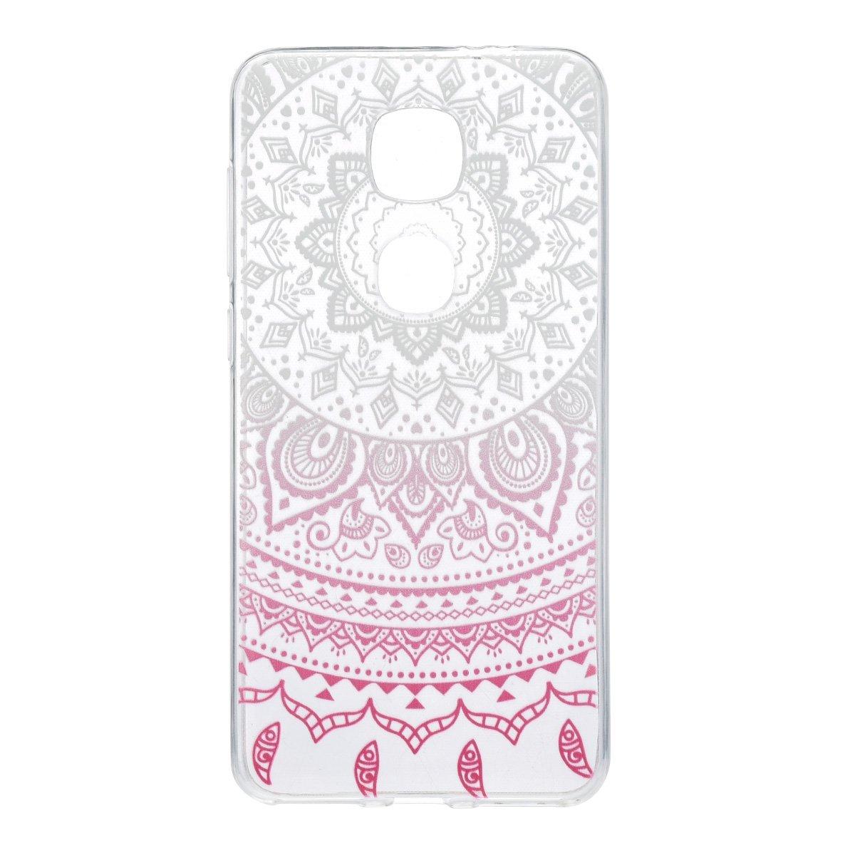 könig-shop Funda de móvil schutz-cover Carcasa Estuche - India Sol Rosa Blanco Transparente, Huawei ...