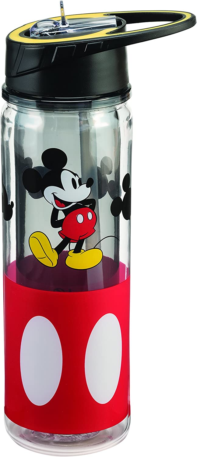 Disney Mickey Mouse 18 Oz  Tritan Water Bottle 89175