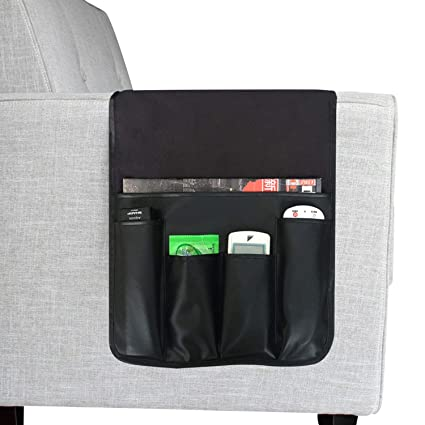 Peachy Greenery Gre 7 Pockets Sofa Armrest Organizer Couch Chair Double Sided Waterproof Caddy Organiser For Tv Remote Control Magazine Book Newspaper Phone Home Interior And Landscaping Elinuenasavecom