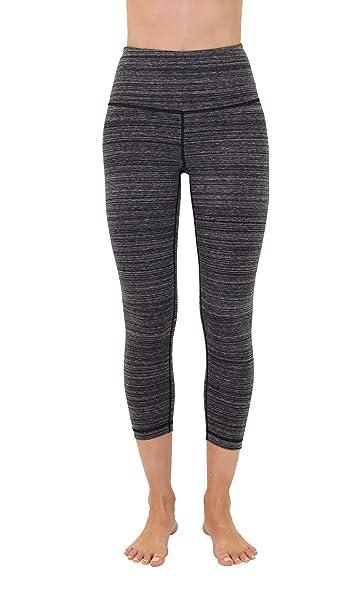 2000db42cbab23 90 Degree By Reflex - High Waist Cotton Power Flex Capri at Amazon Women's  Clothing store: