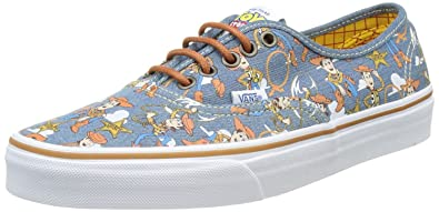 Amazon Com Vans Authentic Toy Story Woody Womens Trainers Shoes 4