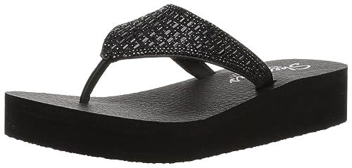 Skechers 31601, Chanclas al Dedo para Mujer