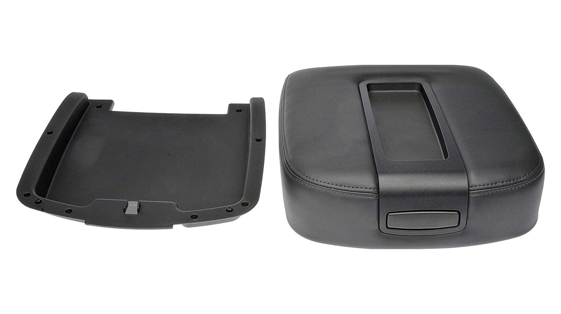 JAUTO Center Console Lid Kit for Select GM Vehicles - Replaces 15217111 15941534 - Black by JAUTO (Image #2)