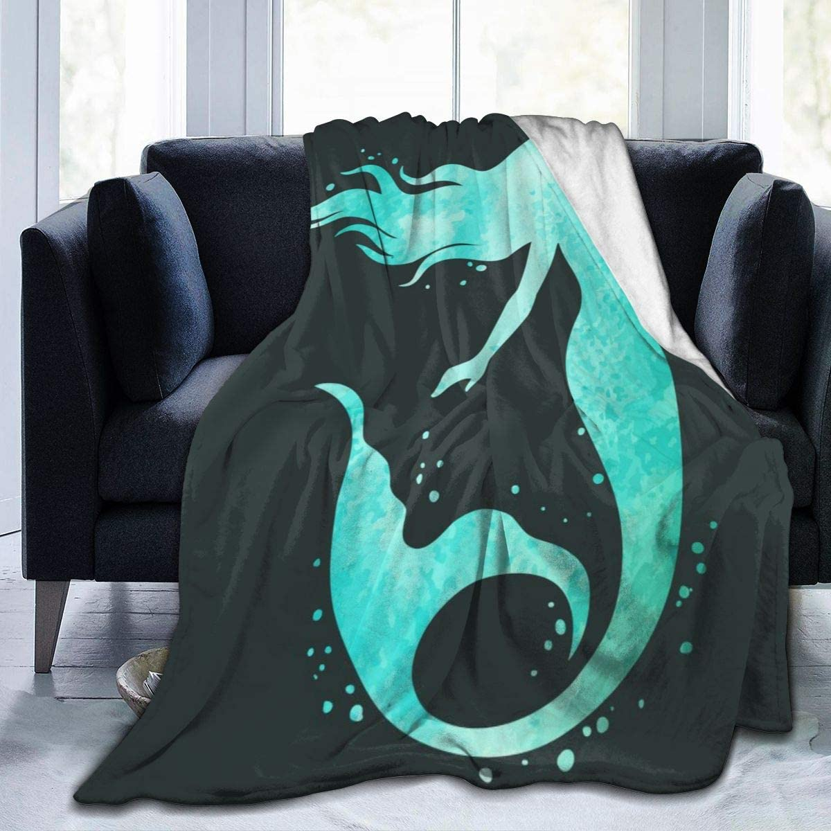 ANNE STOKES Cool Awesome Polar Fleece Throw Blanket Rug 127 x 152 cm