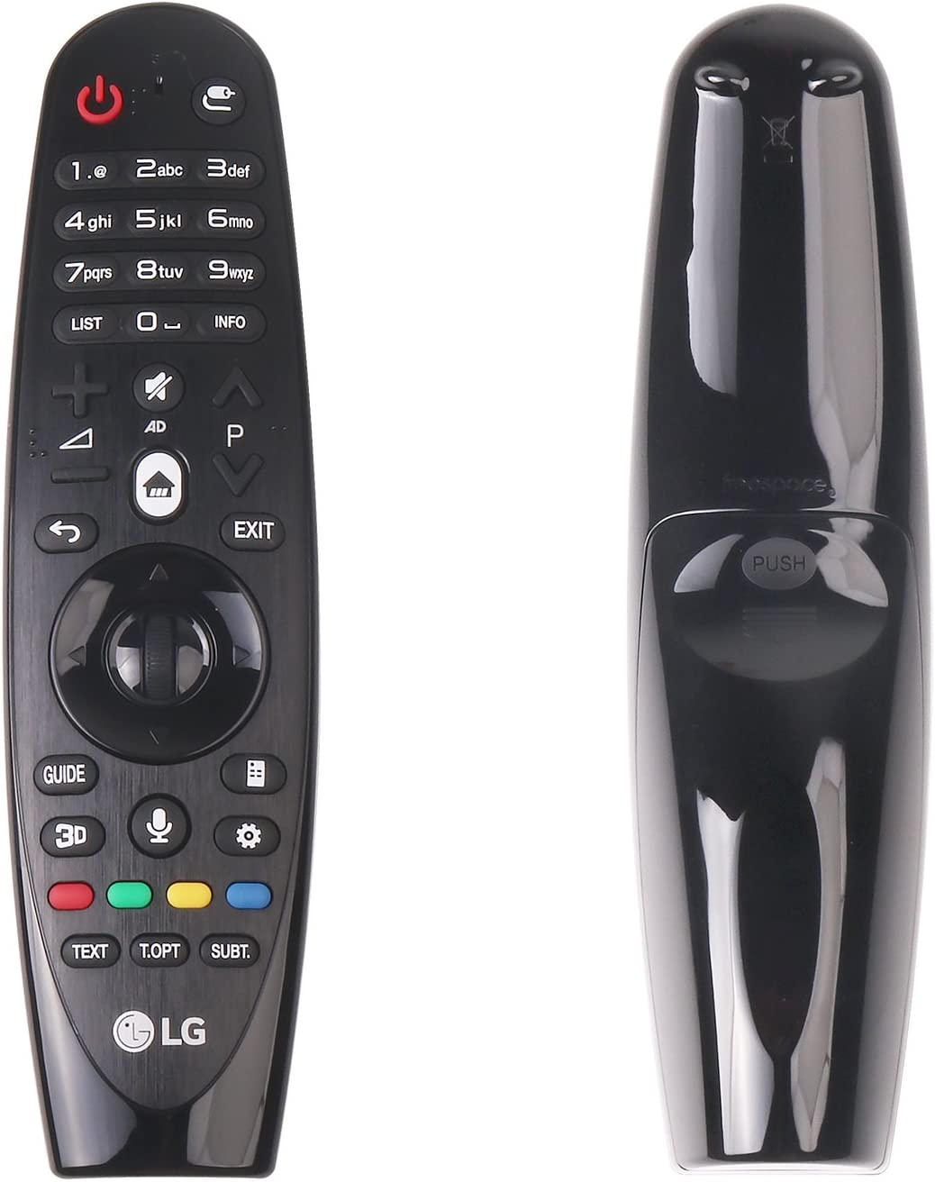 Mando a Distancia Original LG AN-MR600 SIKAI de Repuesto Original AN-MR600 Magic con Voice Mate para LG Serie 2015 Smart TV: Amazon.es: Electrónica