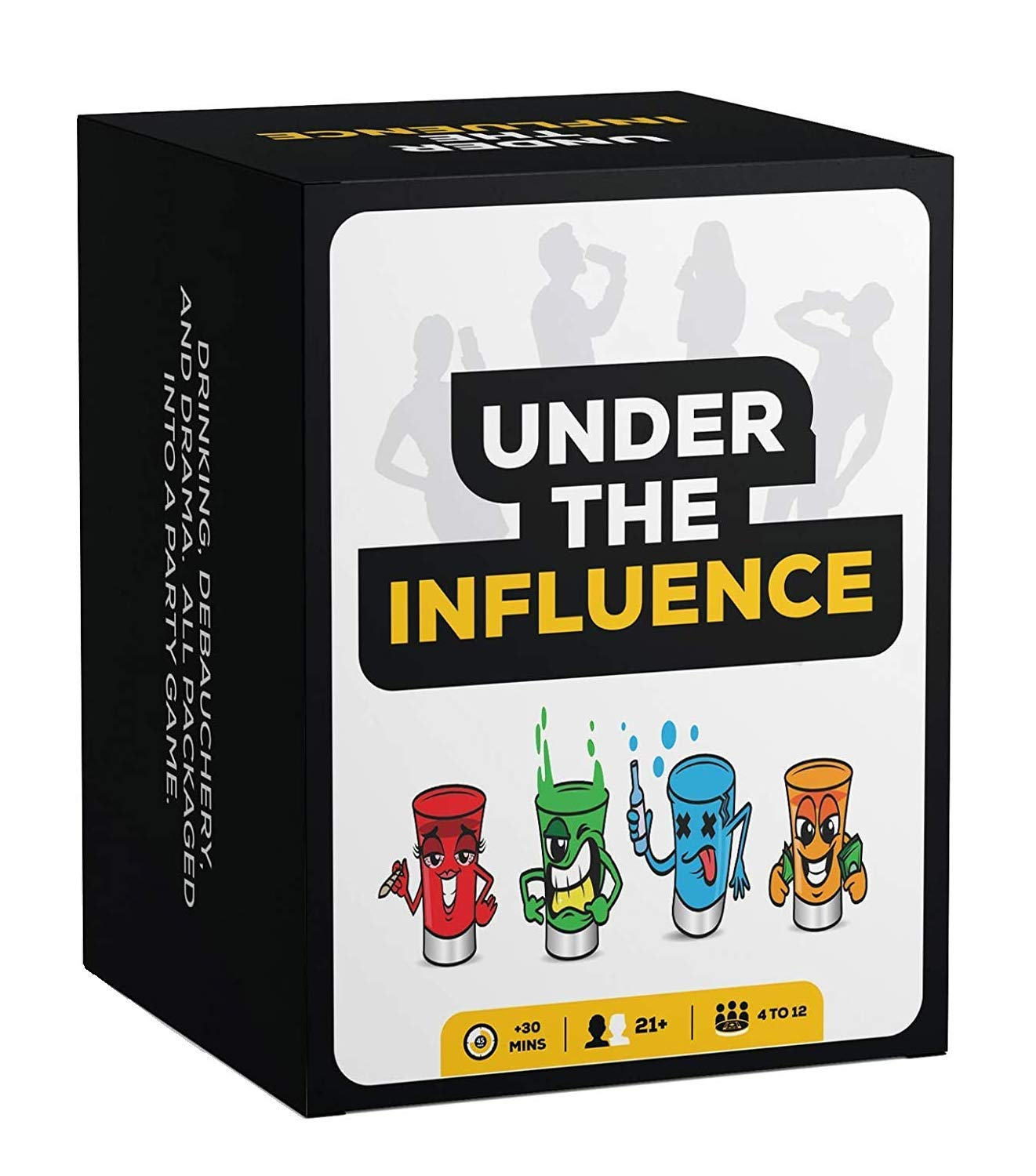 Under The Influence: Fun Drinking Games for Adults - Best Party Card Game Ever (Over 10 Games in 1) Perfect for Game Night