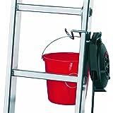Hailo 9952-001 - Gancho cuelga-cubos para escaleras