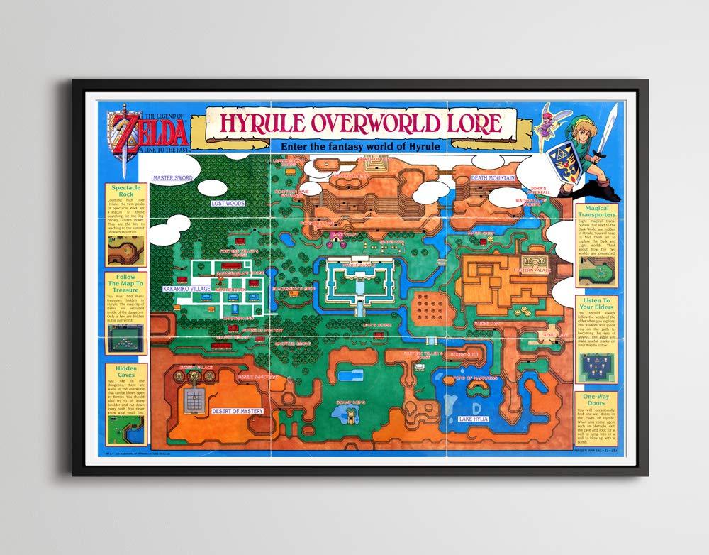 Amazon.com: 1992 Legend of Zelda: A Link to the Past ...