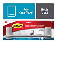 Deals on Command 9-inch Hand Towel Holder Strong and Versatile