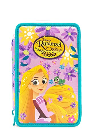 Estuche 3 pisos Rapunzel Disney Princess Seven: Amazon.es ...