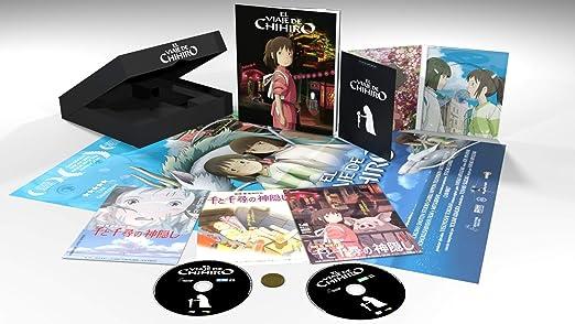 El Viaje De Chihiro (DVD + BD) [Blu-ray]: Amazon.es: Daveigh ...