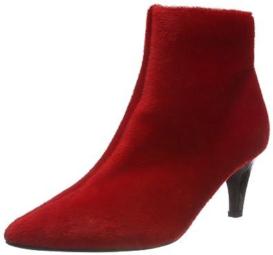 94544591e23 Lost Ink Women's's Jolie Clean Kitten Heel Boot Ankle