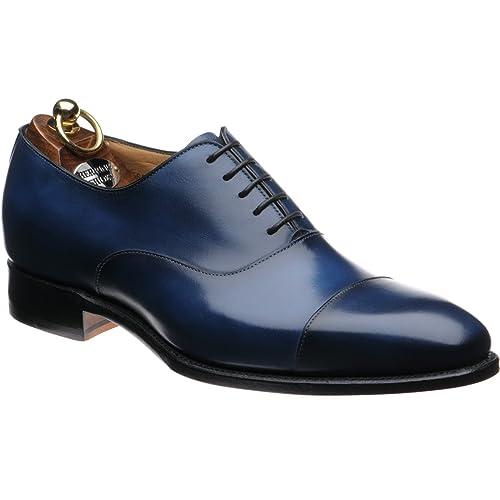 Herring Herring Dickens - Zapatos de cordones para hombre azul Navy Calf, color azul, talla 40