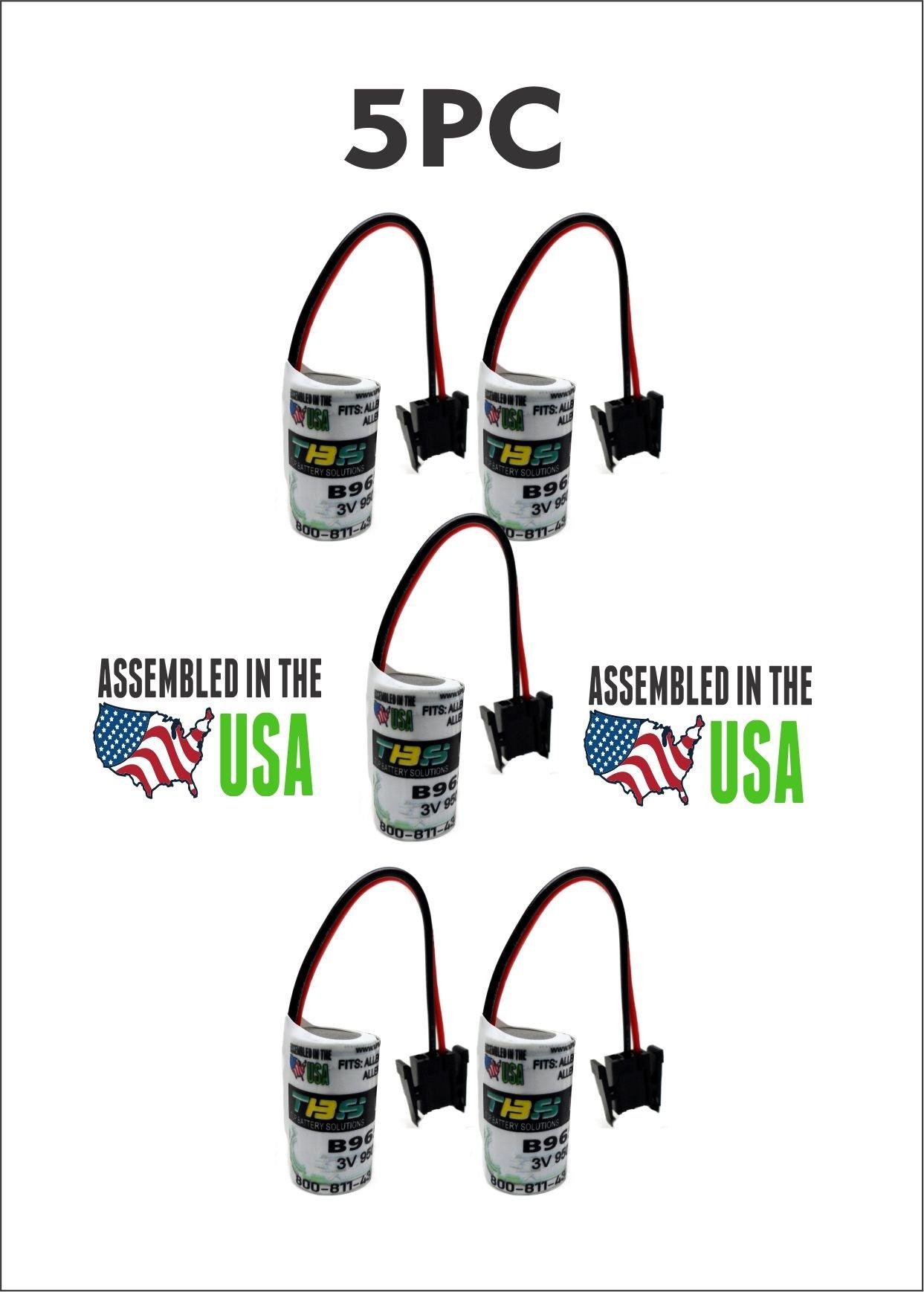 5PC B9650T ALLEN BRADLEY 1747-BA,1769-BA Replacement Battery Fedco B9650T