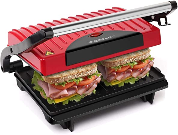Grill multifonction Plancha presse À Paninis Aigostar Hitte