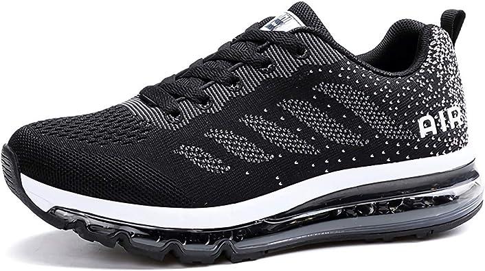 Unisex Zapatillas de Running Hombre Mujer Sneakers Cojín de Aire ...