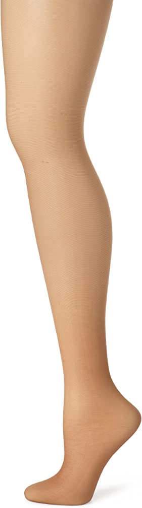 8d6c1b17bd4a Hanes Women's Control Top Sheer Toe Silk Reflections Panty Hose, Barely  There There, A
