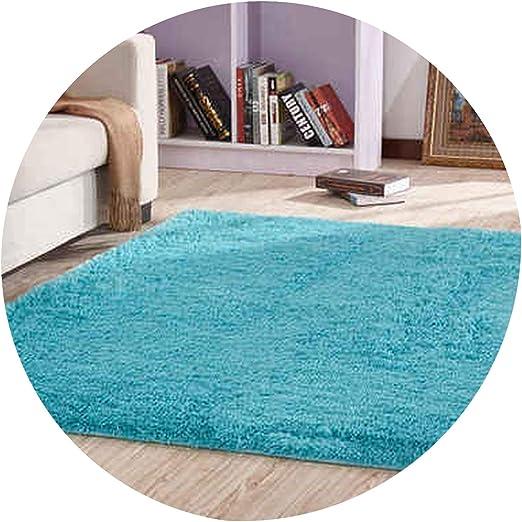 Amazon Com European Modern Rectangular Long Hair Carpet Anti Slip