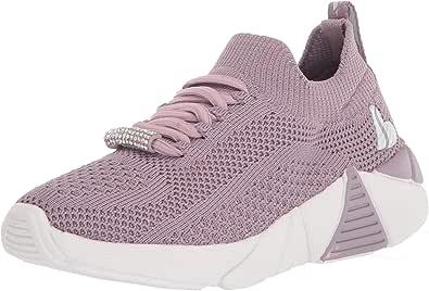 Skechers Kids Girls Sport Air Cooled Memory Foam Stretch Fit Sneaker