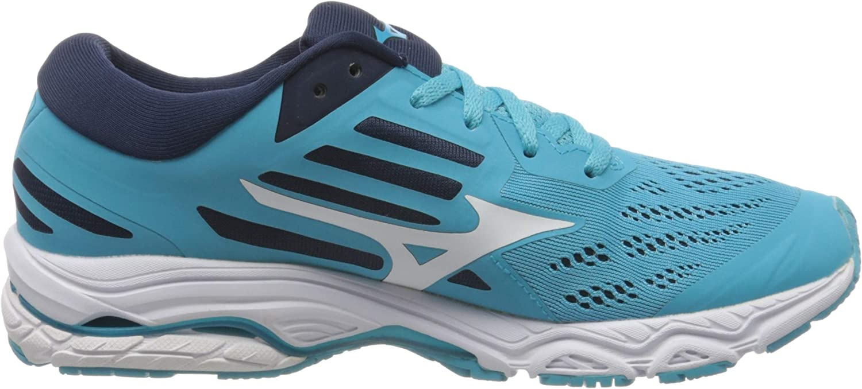Schwarz Mizuno Wave Stream 2 Neutralschuh Damen-T/ürkis Zapatillas de Running Calzado Neutro Mujer