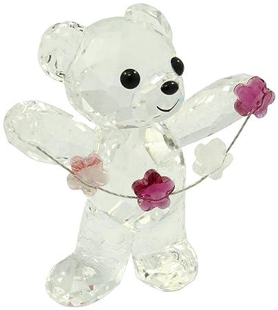 Swarovski Kris Bear Flowers for You