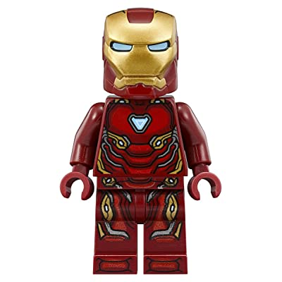 LEGO Marvel Super Heroes Avengers Infinity War Minifigure - Iron Man Tony Stark (76108): Toys & Games