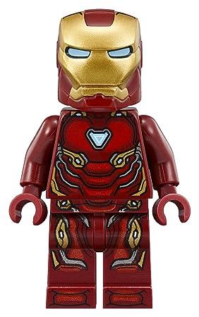 Tony Stark Marvel Ironman Infinity War Suit Lego DYI Minifigure Gift For Kids