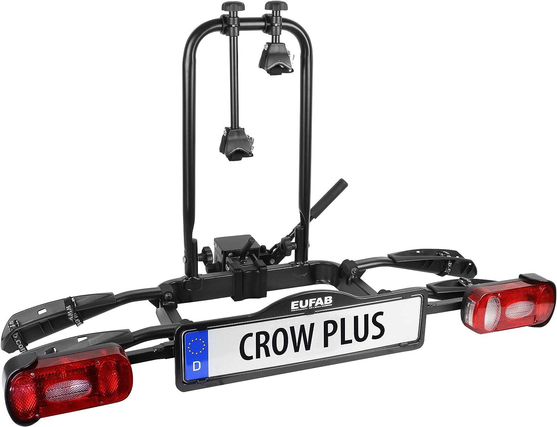 Eufab 11582 Fahrradträger Crow Plus Erweiterbar Auto