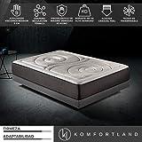 Komfortland Colchón 90x190 viscoelástico Memory Platinum de Altura 27cm, 9cm de ViscoProgression Grafeno de Alta
