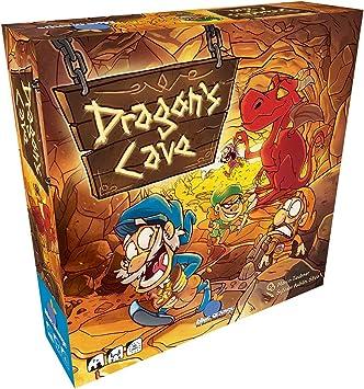 MORAPIAF Dragons Cave - Juego de Mesa [Castellano]: Amazon.es: Juguetes y juegos