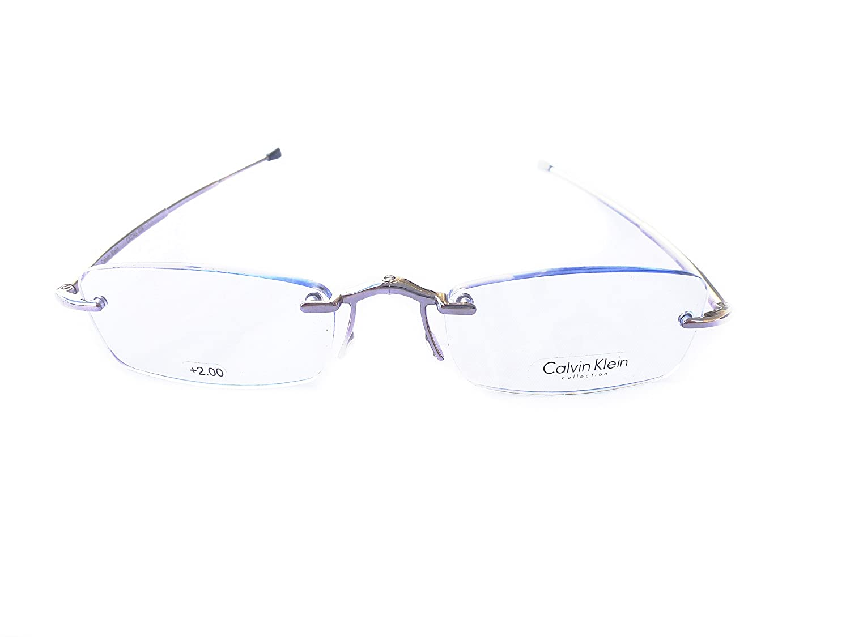 Amazon.com  Foldling Reading glasses Model Calvin Klein CR3 038 Color   Gunmetal  Health   Personal Care 8e14d7cf24