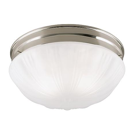 Amazon.com: Westinghouse Lighting 67212 2-Light Flush Mount ...