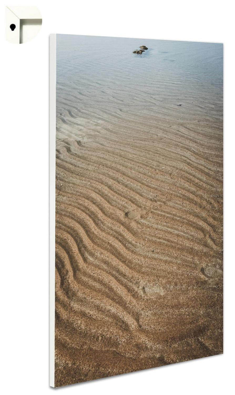 B-wie-bilder Magnettafel Pinnwand mit Motiv Meer Watt Größe 40 x 60 cm