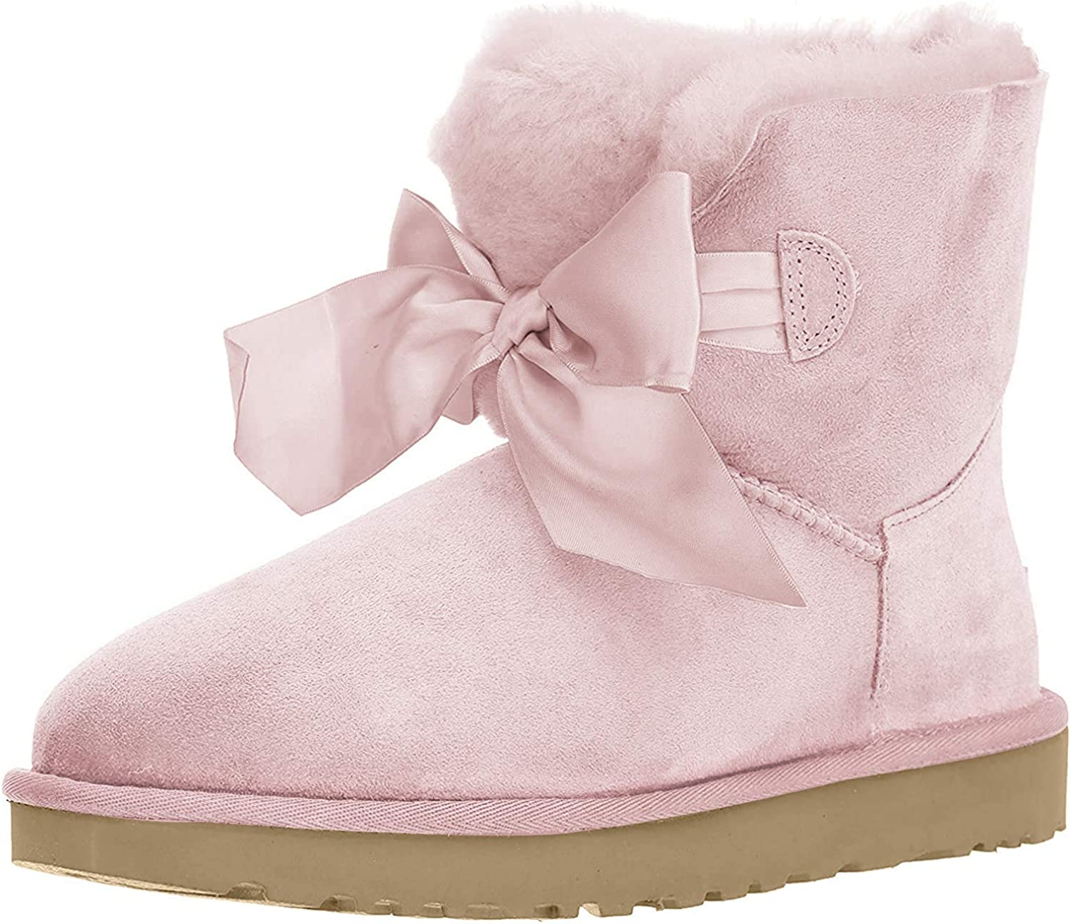 ugg satin bow mini